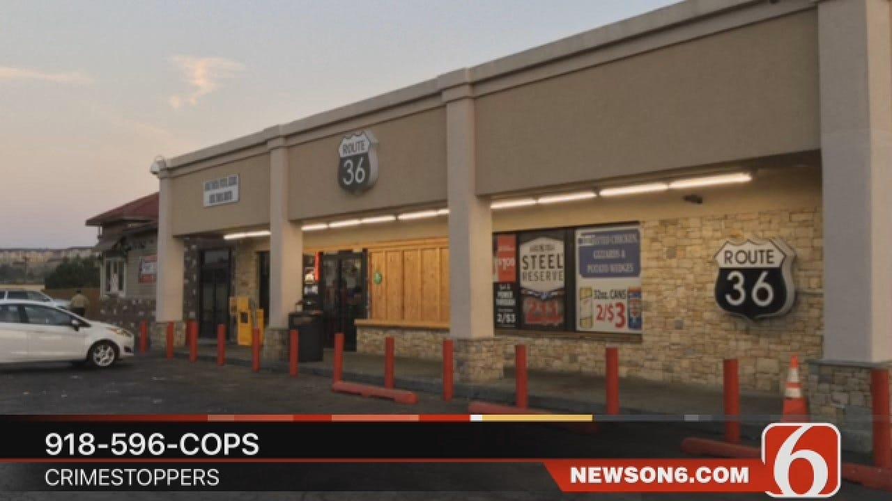 Dave Davis Report On Homicide Outside Tulsa Convenience Store