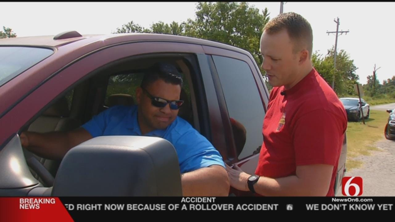 Bixby Citizens Turn Into Officers During Traffic Stop Simulations