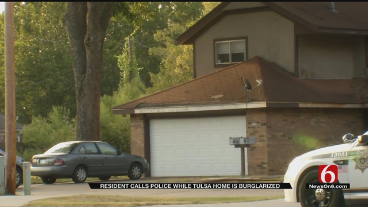 Tulsa Home Burglarized While Resident Is Inside