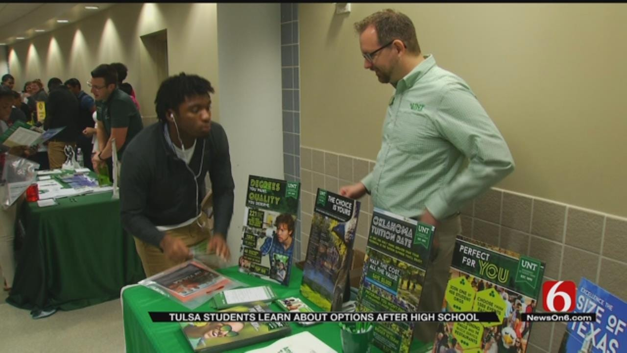 'Go To College' Fair Encourages Tulsa Students To Look At Options