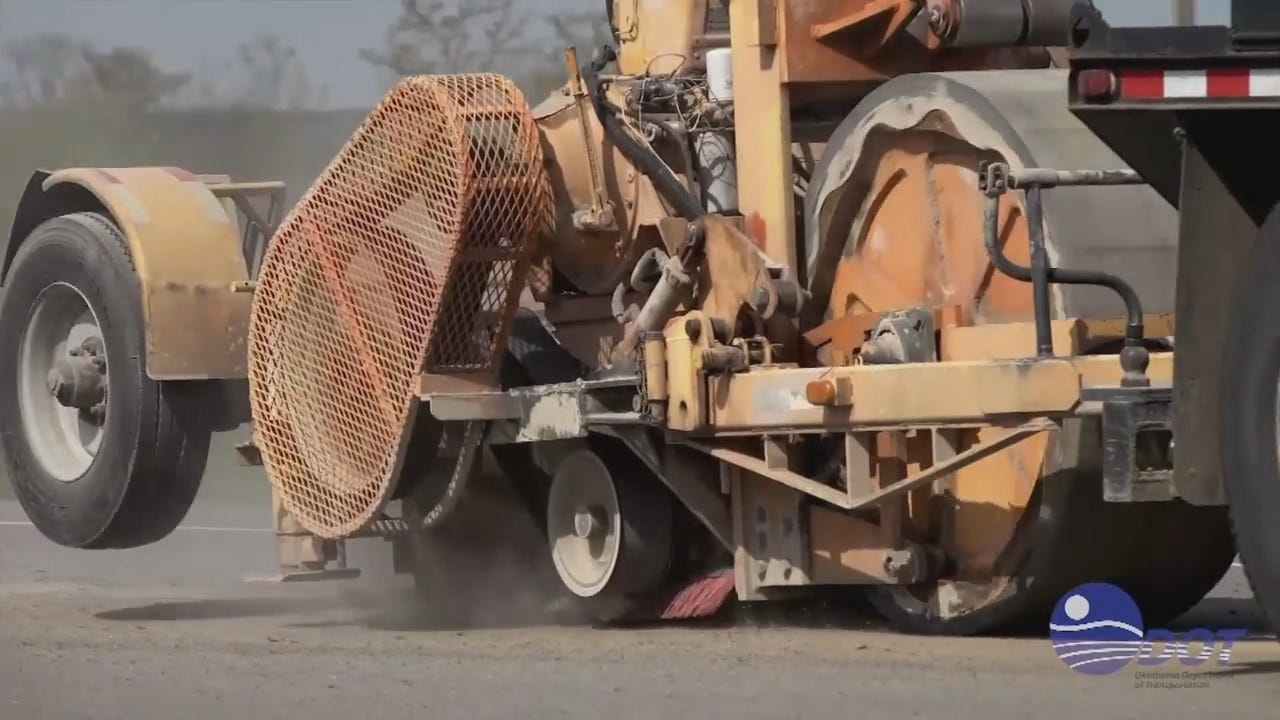 WEB EXTRA: ODOT Video Of Installing Center Line Rumble Strips