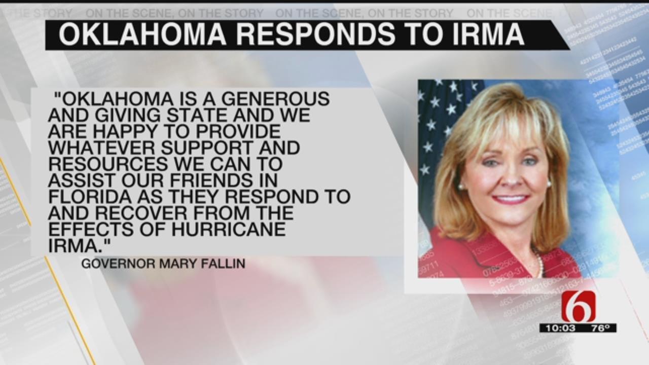 Oklahoma Steps Up To Aid Florida