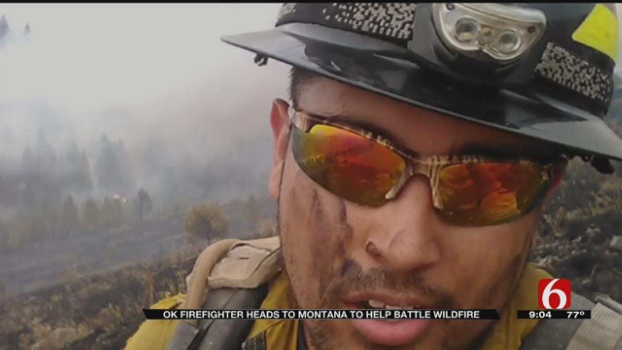 Osage Nation Firefighters Head To Montana To Fight Historic Fire