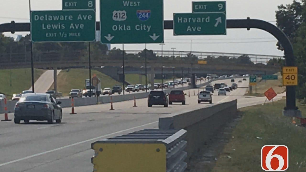 Tulsa Man Shot At While Driving
