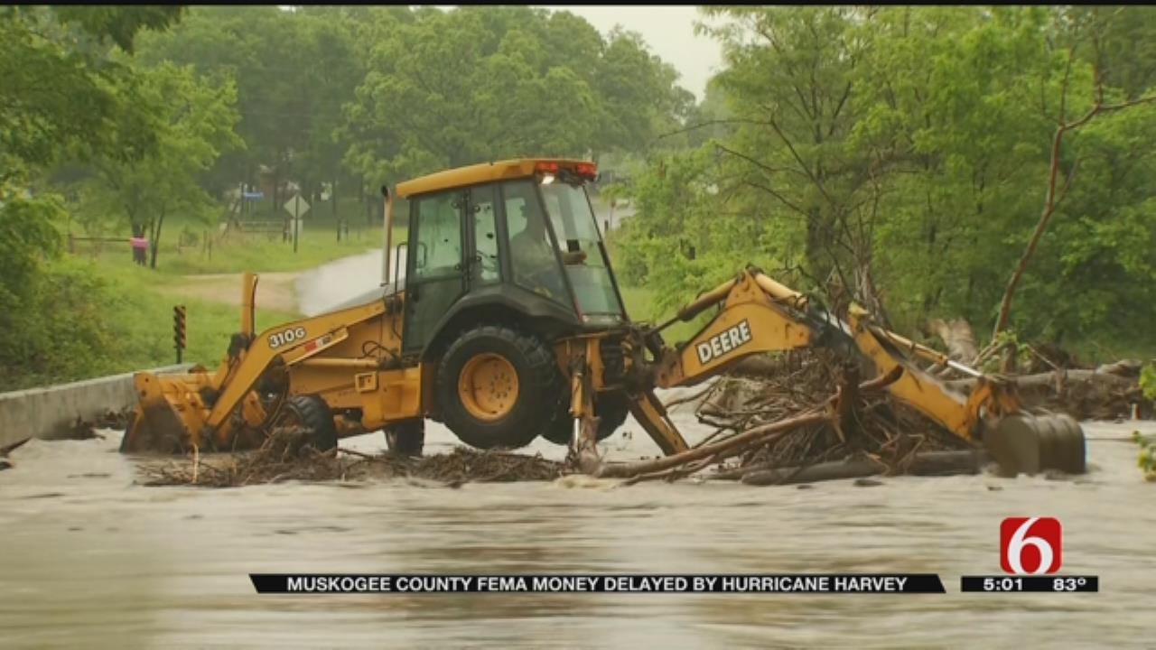 Oklahoma Waits For Disaster Funds While FEMA Focuses On Hurricane Harvey
