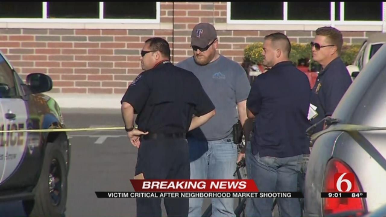 One Person Critical After Shooting At Broken Arrow Walmart