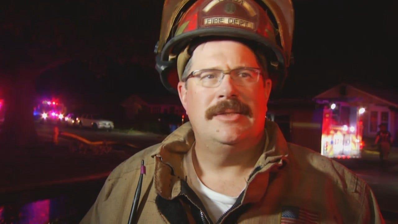 WEB EXTRA: Tulsa Fire Captain John Smith Talks About The Fire