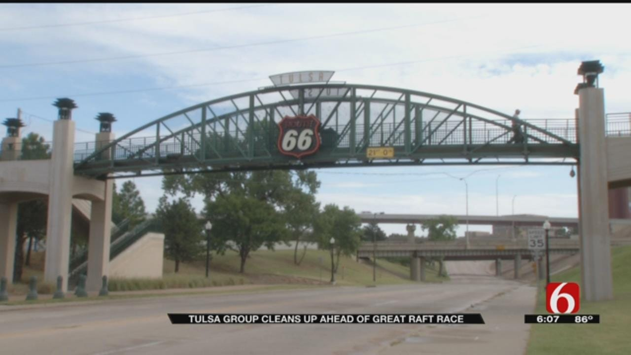 Committed Tulsans Spruce Up Route 66