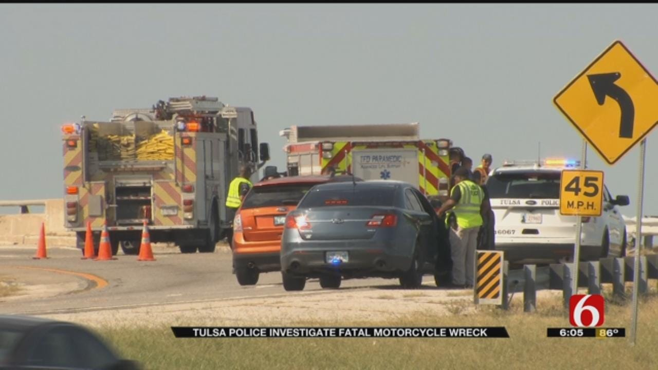 Fatal Motorcycle Wreck On 169 Northbound Ramp