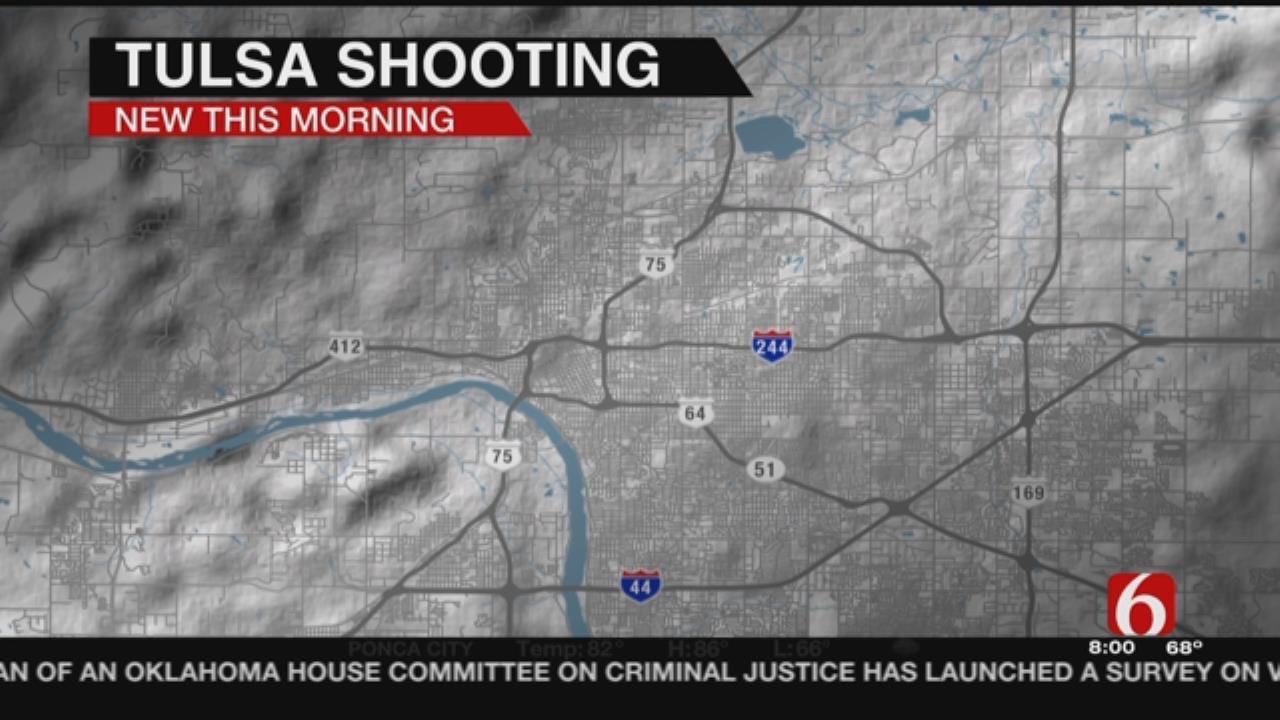 Man Shot After Kicking In Ex-Girlfriend's Door