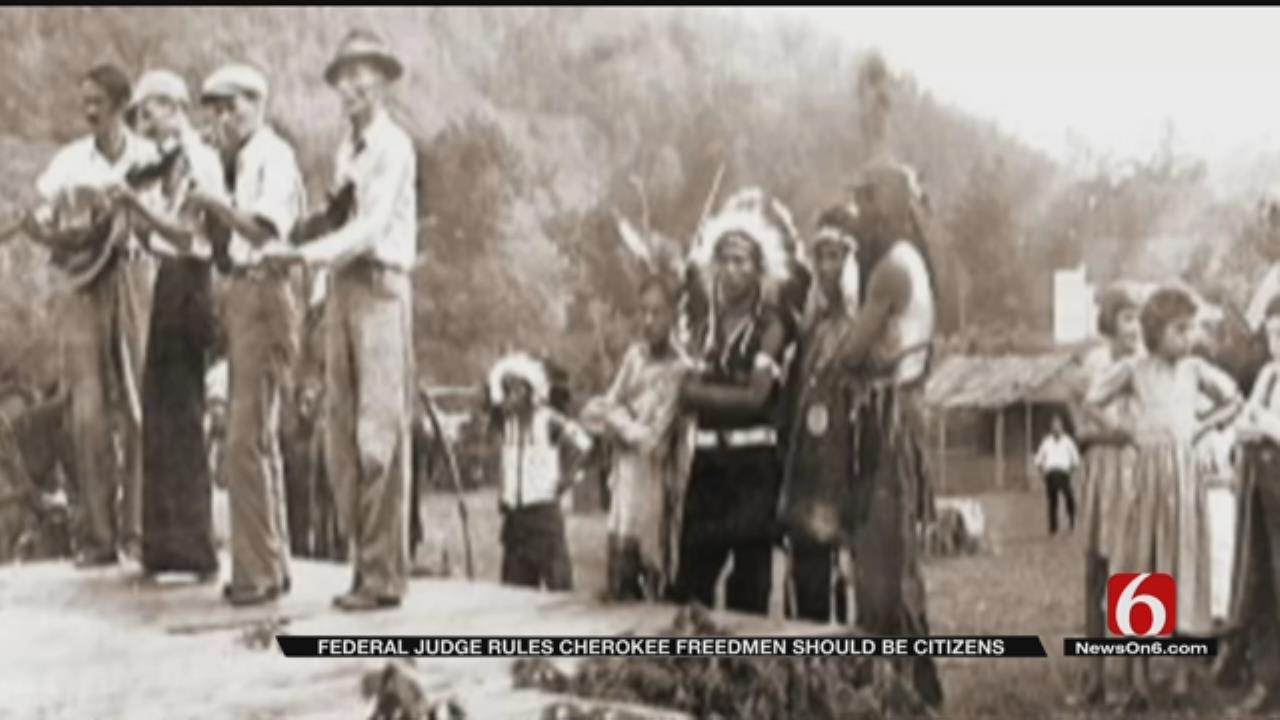 Cherokee Freedmen Descendants Win Right To Tribal Membership