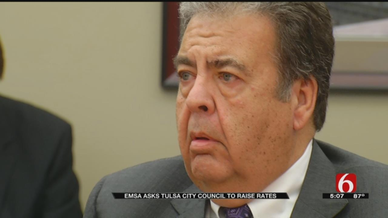 EMSA Director Asks Tulsa City Council For Rate Increase