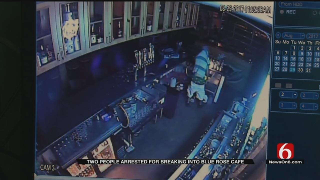 Blue Rose Cafe Manager: TPD's Quick Response Aided In Burglars' Capture
