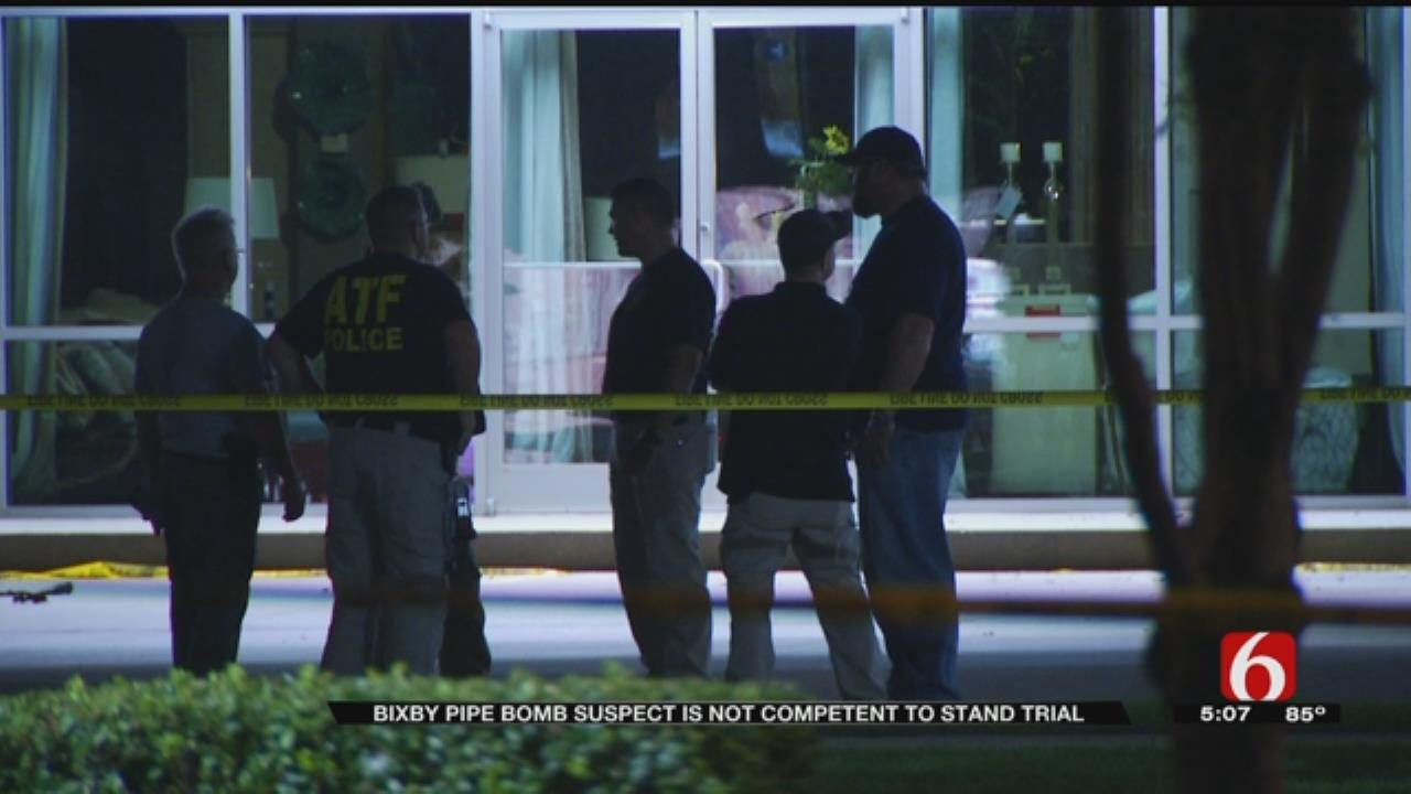 Judge: Bixby Pipe Bomb Suspect Not Mentally Competent To Stand Trial