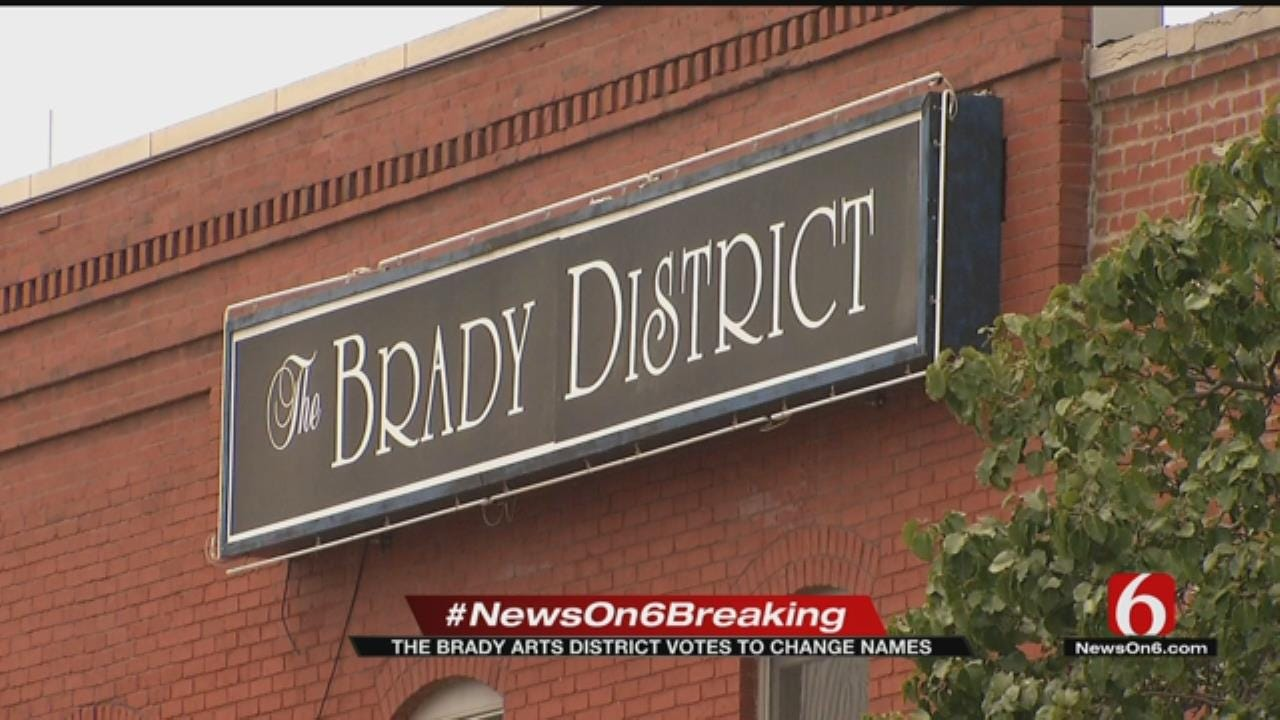 Brady Arts District Businesses Vote To Change District's Name