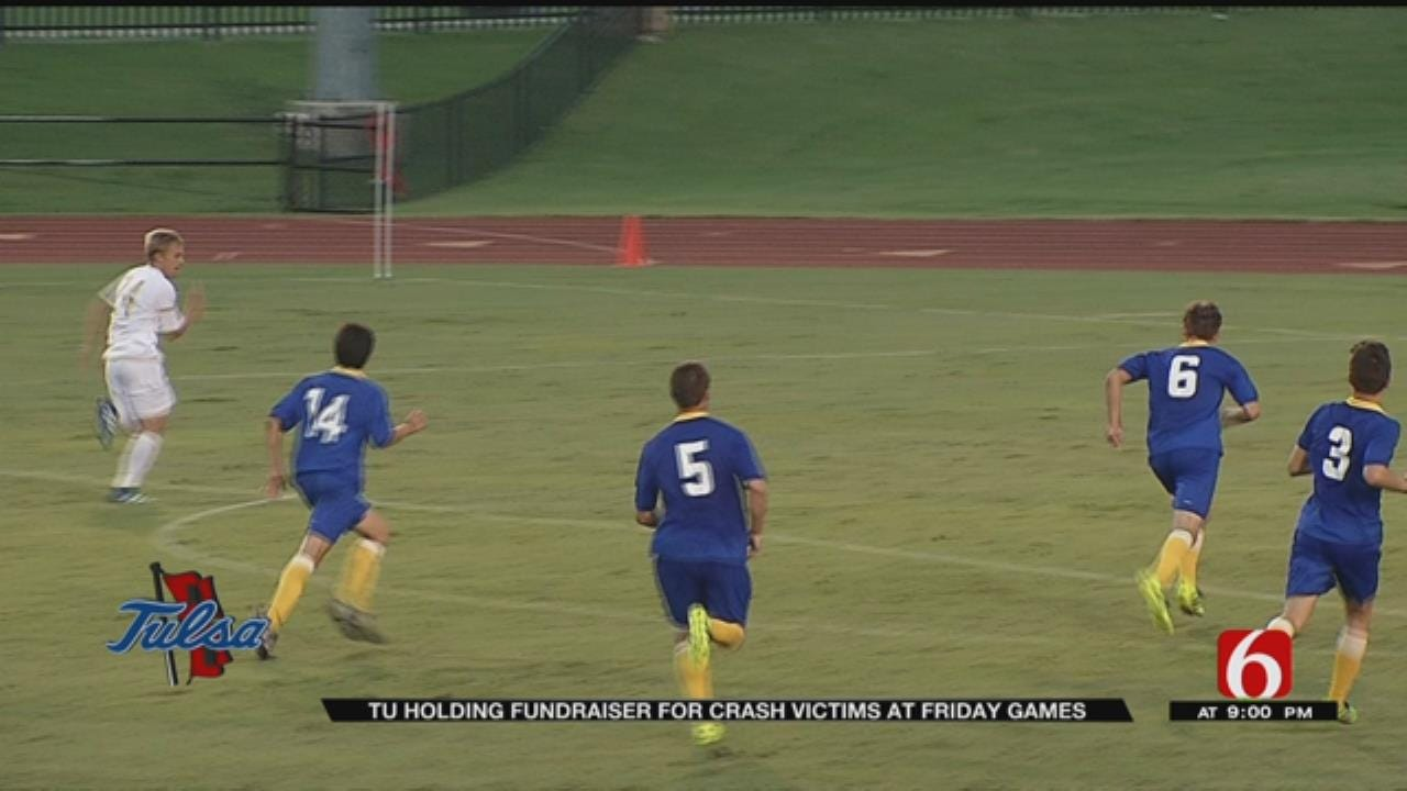 TU Soccer Teams Raise Money For Families Affected By Deadly Purcell Wreck