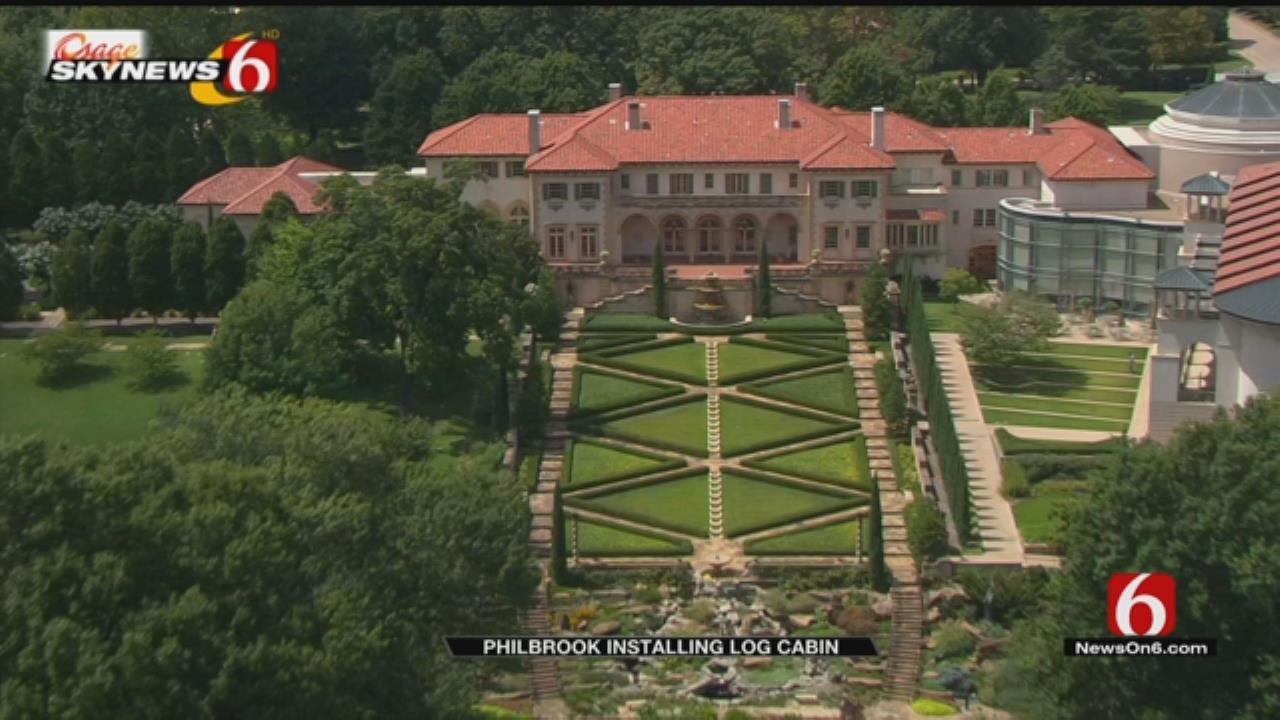 Tulsa Artist To Install Reclaimed Log Cabin To Philbrook Museum Garden