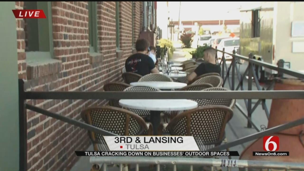City Cracking Down On Rules Regarding Businesses' Outdoor Patio Space