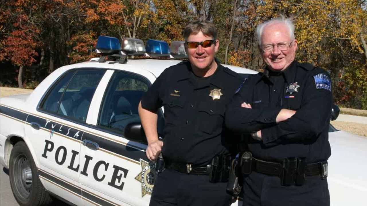 Father And Son Retire From Tulsa Police Department