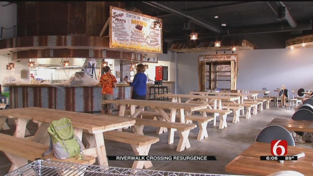 Businesses Flock To Jenks Riverwalk