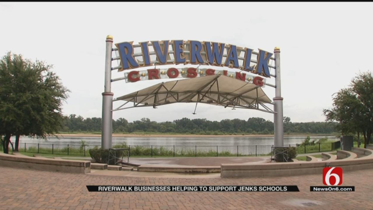 Riverwalk Businesses To Donate Portion Of Sales To Jenks Public Schools