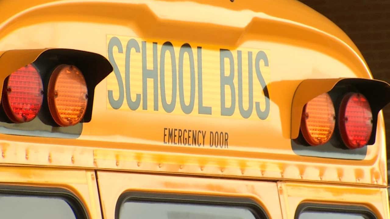 Emory Bryan Reports On Tulsa School Bus Safety