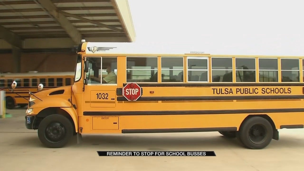 Tulsa Drivers Reminded To Stop For The Bus