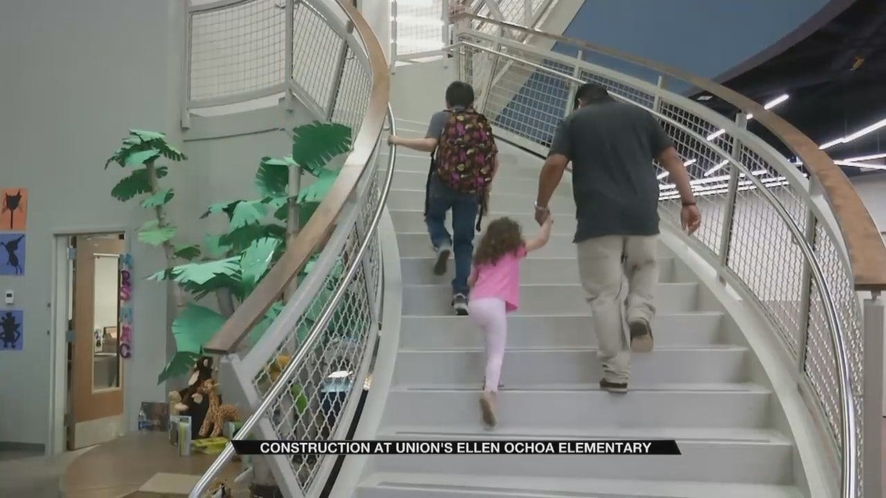 Union's Newest Elementary School Welcomes Students On First Day
