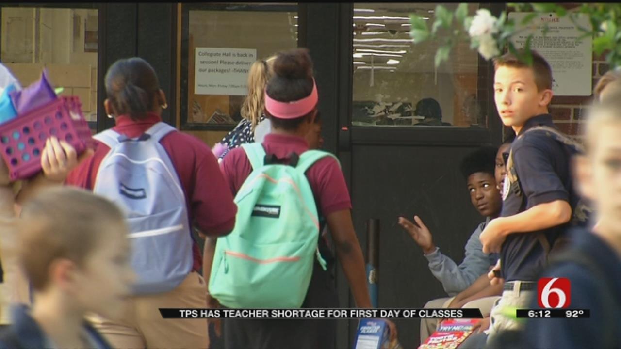 Tulsa Superintendent Teaches Third Grade Amid Teacher Shortage