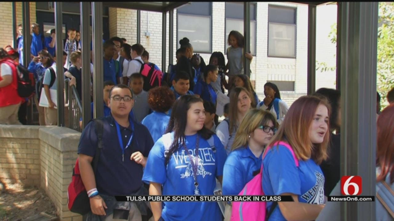 Webster Students, Administrators Adjust To School Consolidation