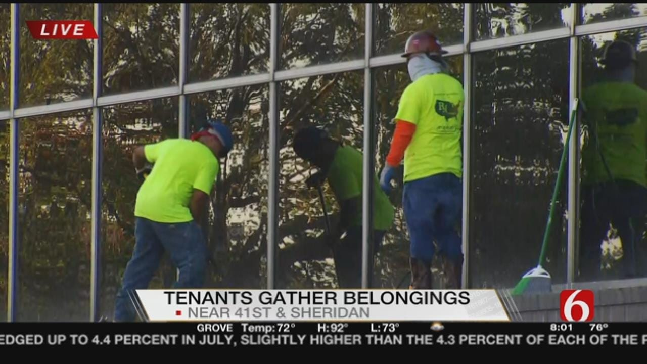 Cleanup Continues At Remington Tower Nearly 2 Weeks After Tornado