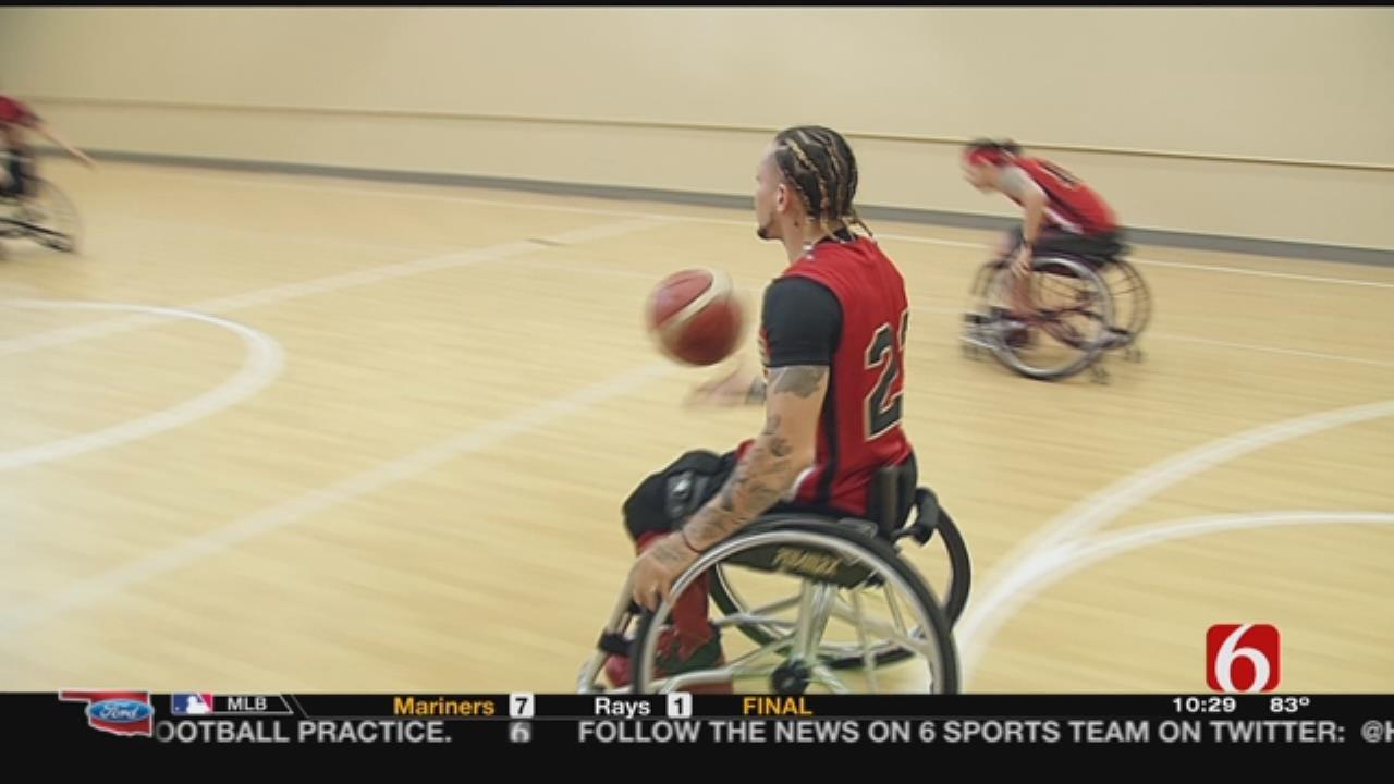 Oklahoma Wheelchair Basketball Team Wins Championship