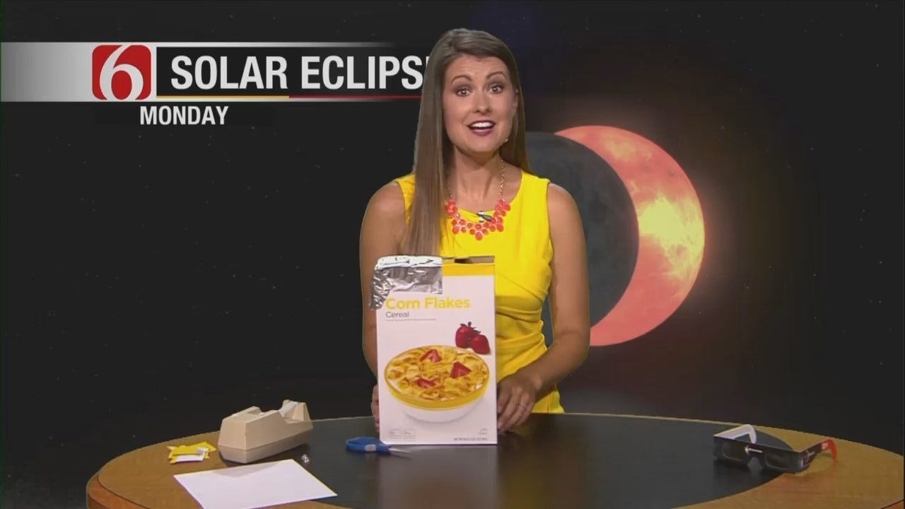 Lacey Swope: Make Your Own Pinhole Project For Safe Solar Eclipse Viewing