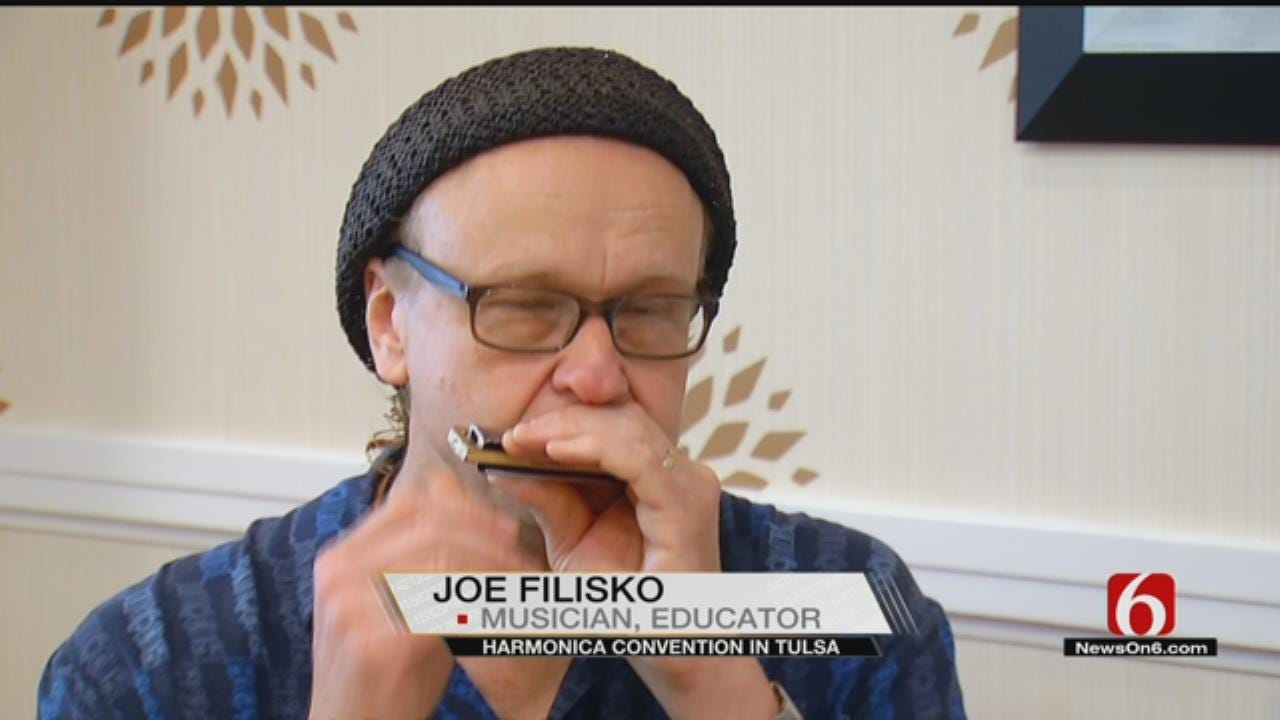 'World's Biggest Harmonica Party' To Take Place In Tulsa
