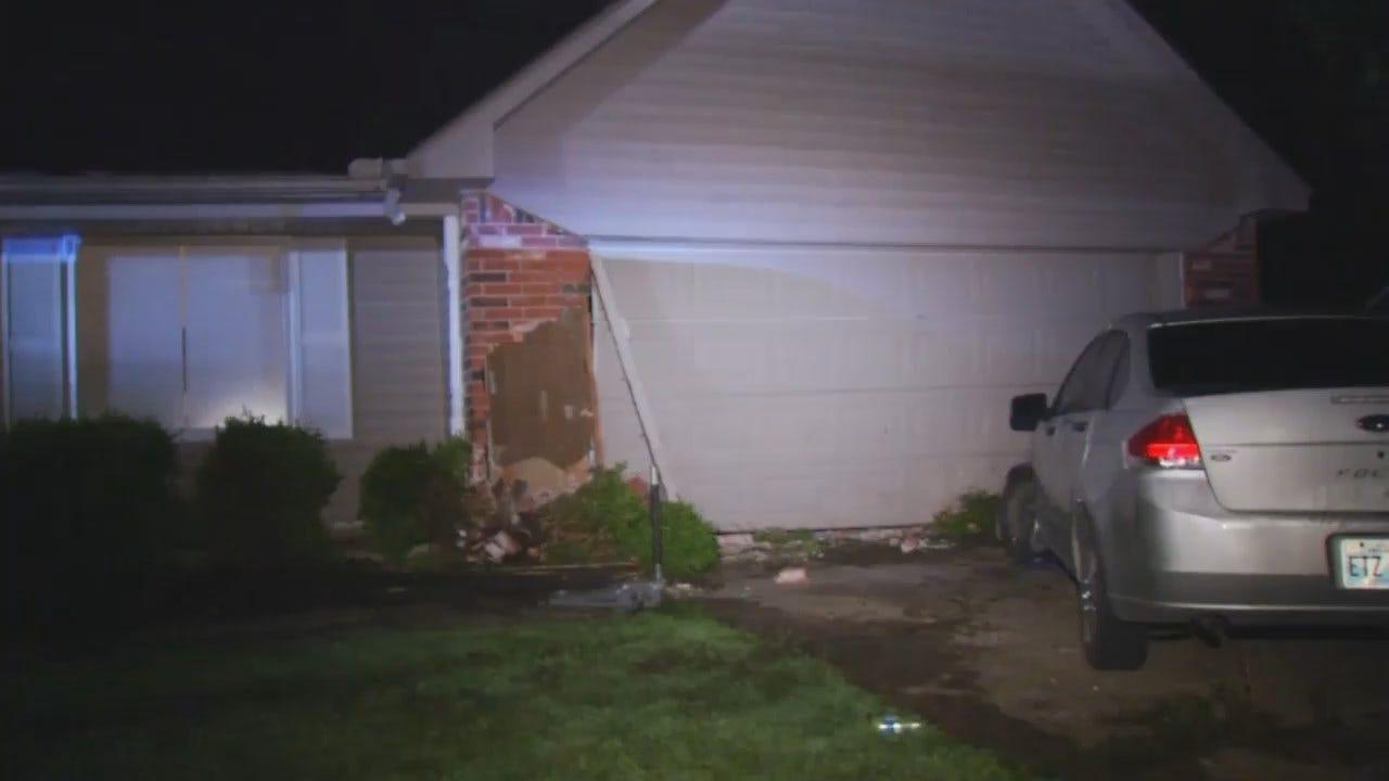 WEB EXTRA: Video From Scene Of Tulsa Stolen Trailer Crash