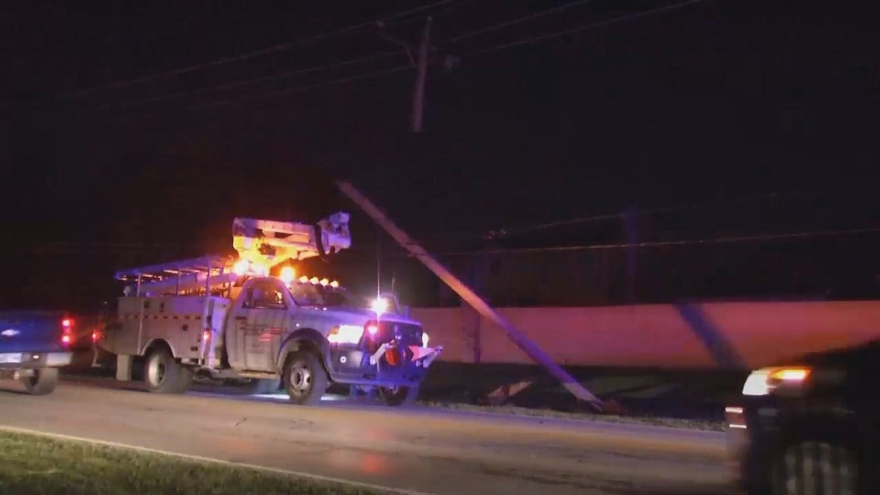 WEB EXTRA: Video From Scene Of Tulsa Crash On Mingo