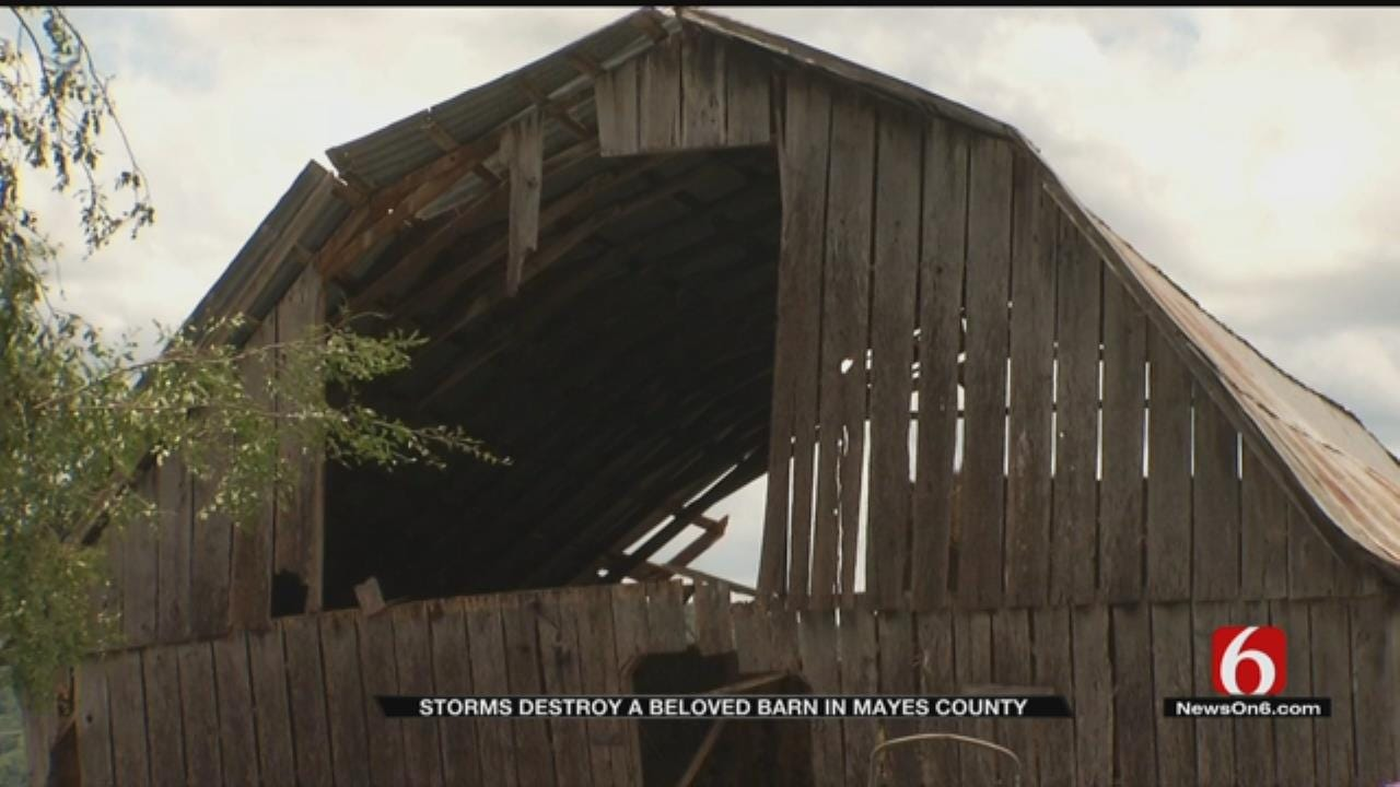 Mayes County Family Loses Sentimental Piece Of Property