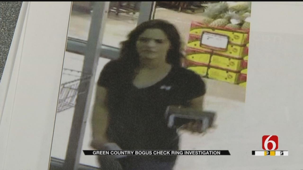 Tulsa Police Look For Suspects In Bogus Check Ring