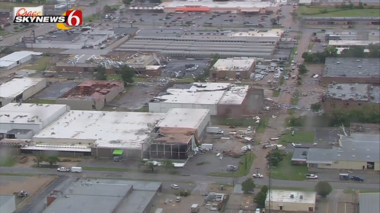 WEB EXTRA: Aerials Of August 6, 2017, Tornado Damage