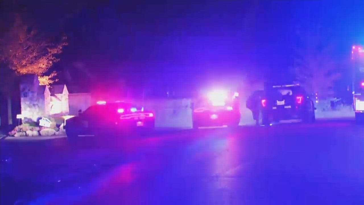 WEB EXTRA: Video From Scene At End Of Police Chase