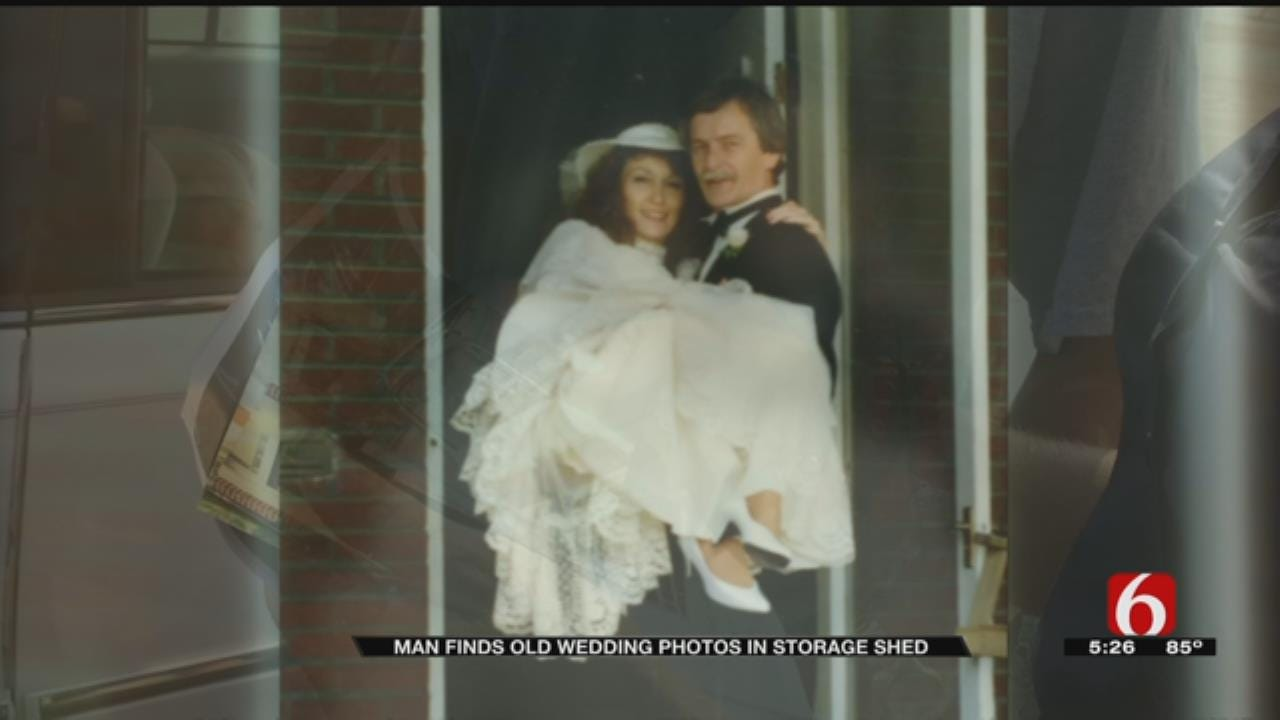Man Asks For Help Locating Owners Of Wedding Photos Found In Sapulpa Storage