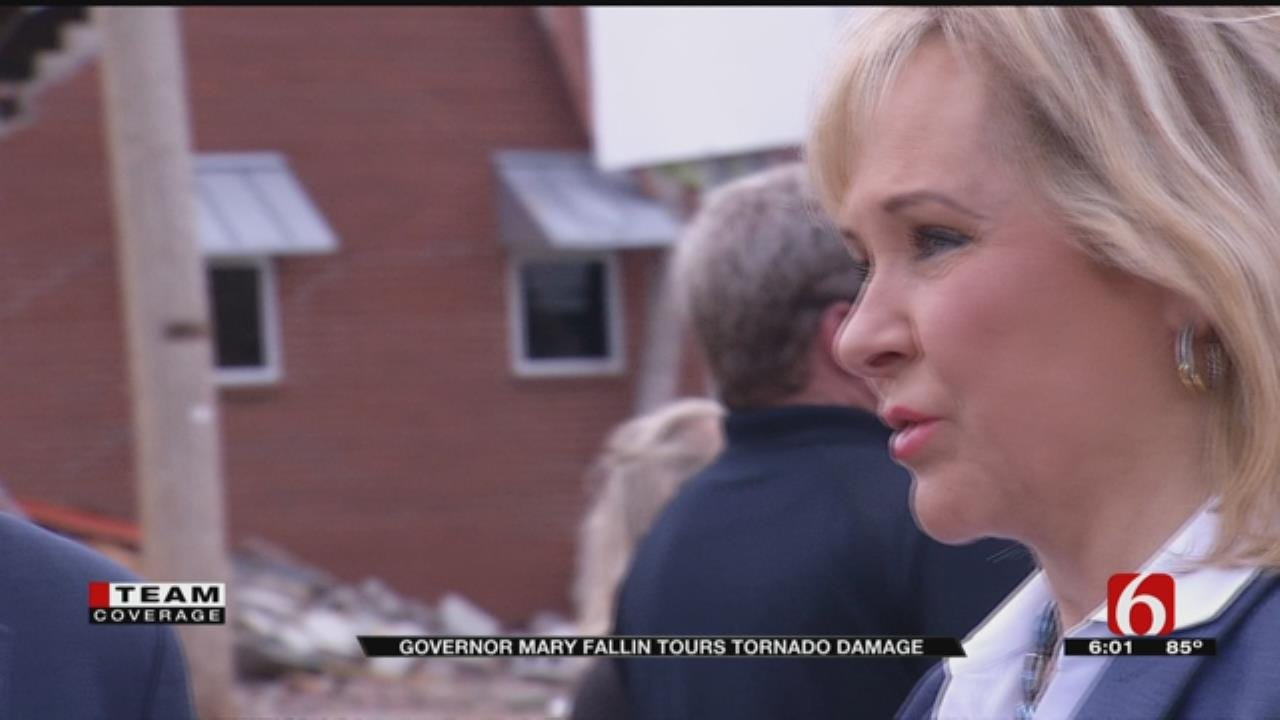 Governor Fallin Pledges Help To Tulsans Hit By Tornado