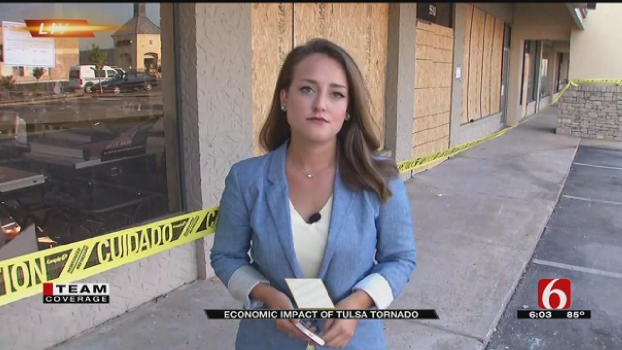Tulsa Regional Chamber Says Expect Economic Boost Following Tornado