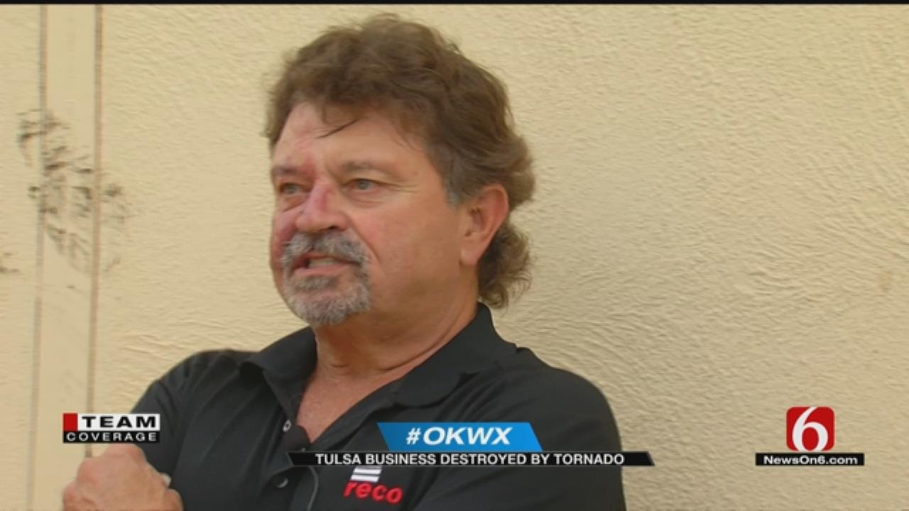 Tulsa Construction Company Signed For New Space Day Before Tornado Hit