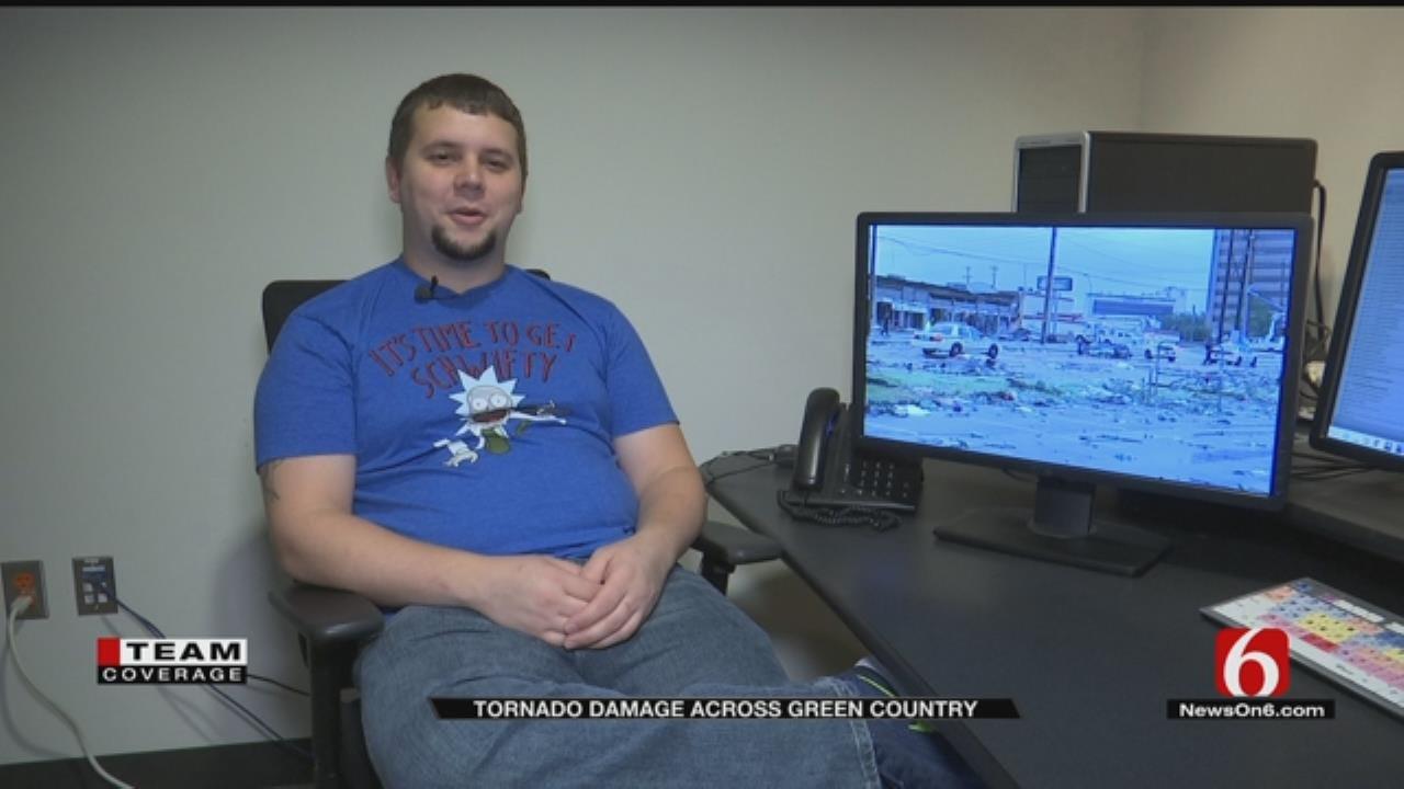 Overnight Baker Recalls Moment Tornado Hit Panera