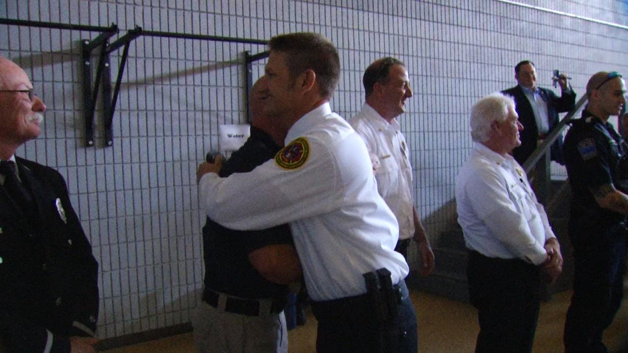 2 Tulsa Firefighters Graduate From Police Academy