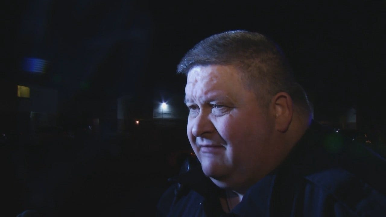 WEB EXTRA: Tulsa Police Cpl. R.W. Solomon Talks About Shooting