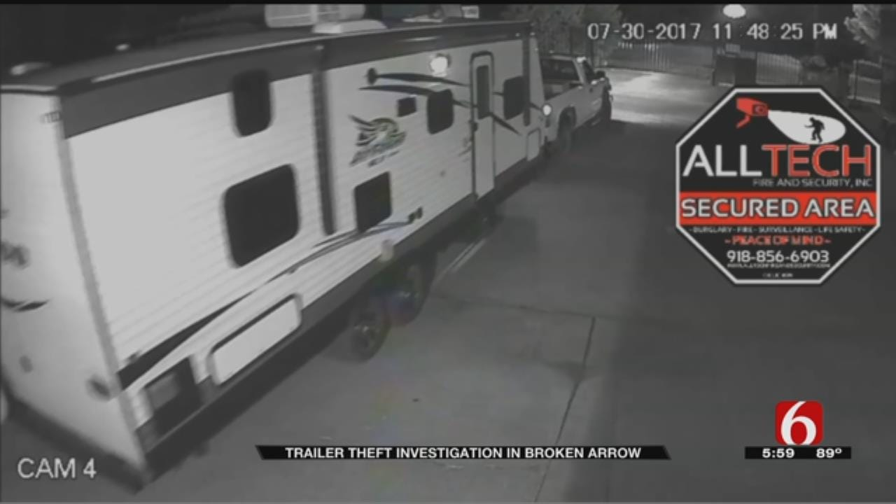 Broken Arrow Police On Hunt For Man Who Stole Trailers From Storage Units