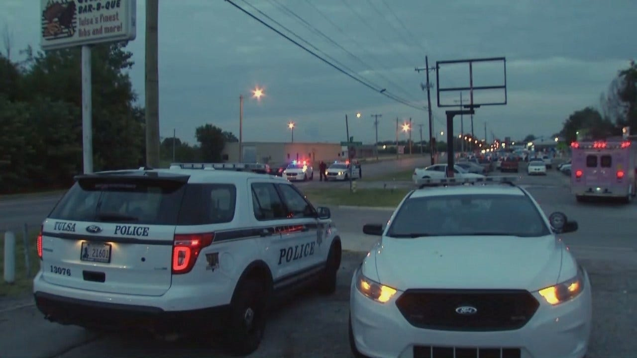 WEB EXTRA: Video From Incident Scene At Tulsa's Pine And Yale