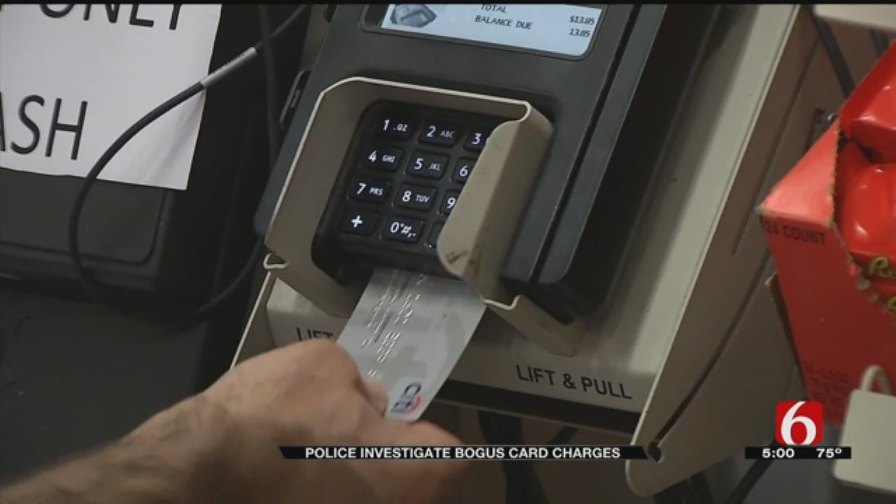 Sand Springs Police Investigating Several Incidents Of Credit Card Fraud